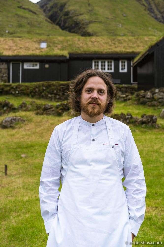 Chef Poul Andrias Ziska of Koks.