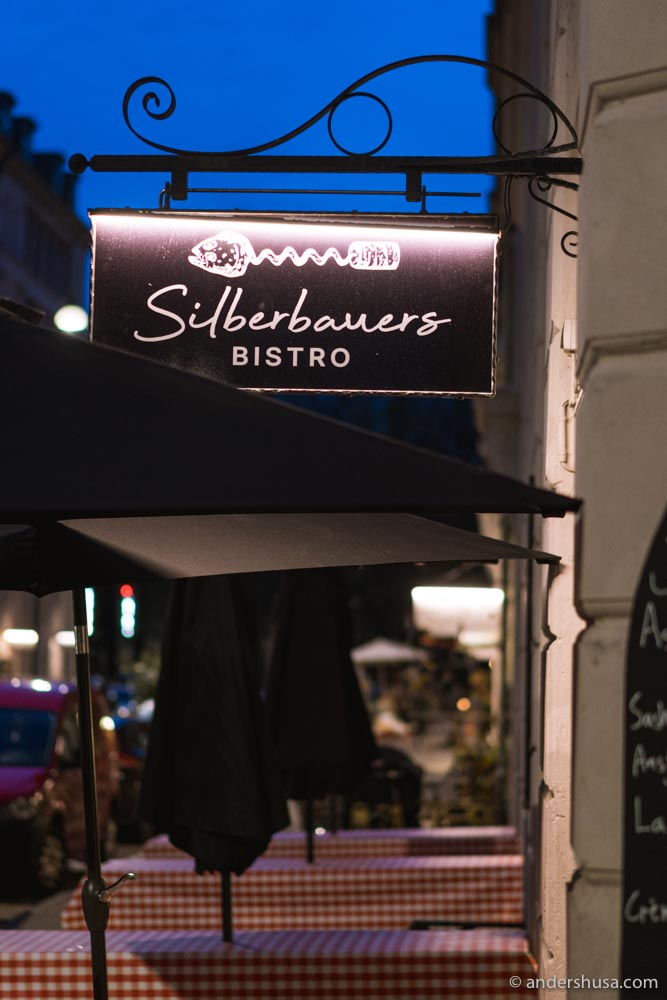Silberbauers Bistro is officially open on Jægersborggade.