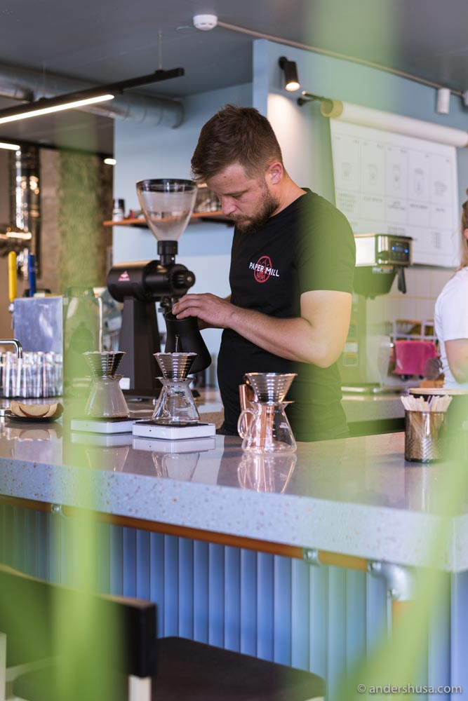 Owner Margus Varvas founded Mousetail Coffee in London before moving back to his hometown of Tallinn.