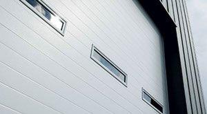Custom commercial garage doors by Anderson Garage Doors in Cache Valley, UT