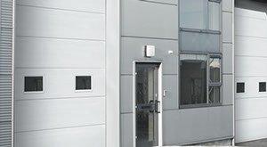 commercial garage door in Cache Valley, UT