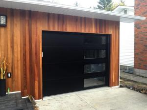 New Modern Tech Garage Doors