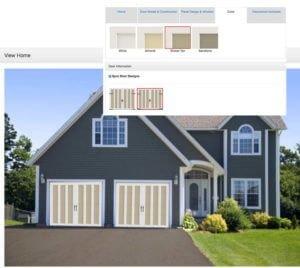 Design your garage door