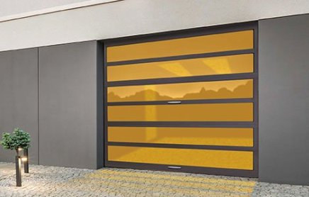 Aluminum MultiView Garage Doors