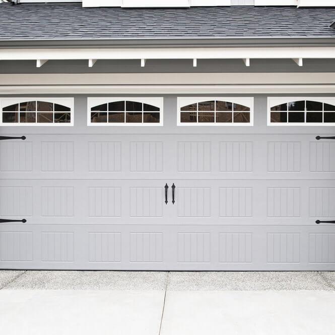 residential garage door installation in Logan