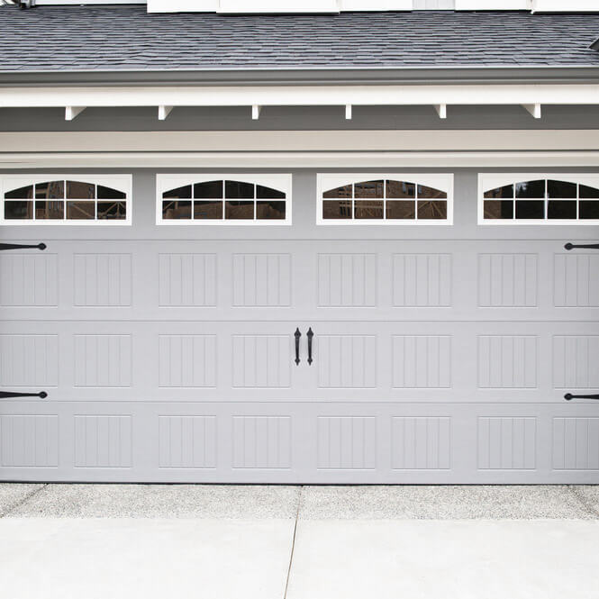 residential garage door installation in Logan