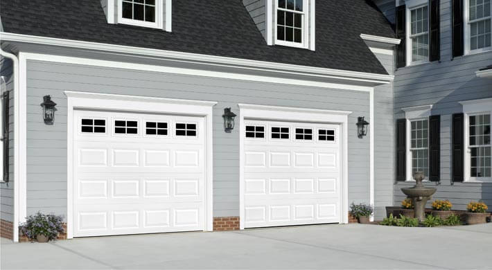 Faux Garage Door Windows