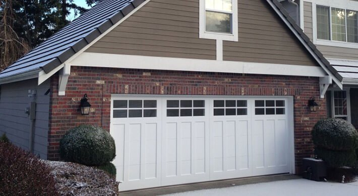 Therma Elite residential garage door in Logan, UT