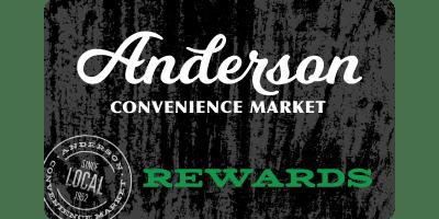 Rewards | Anderson Convenience Market & Anderson Auto Care - Family