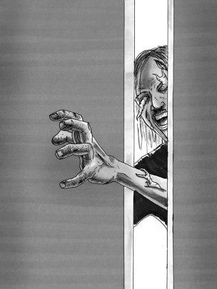 hand-reaching-into-door