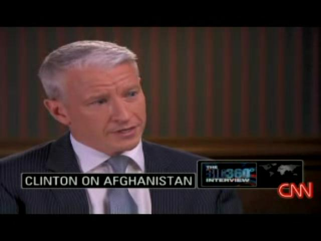 Anderson Cooper interviews Bill Clinton 5