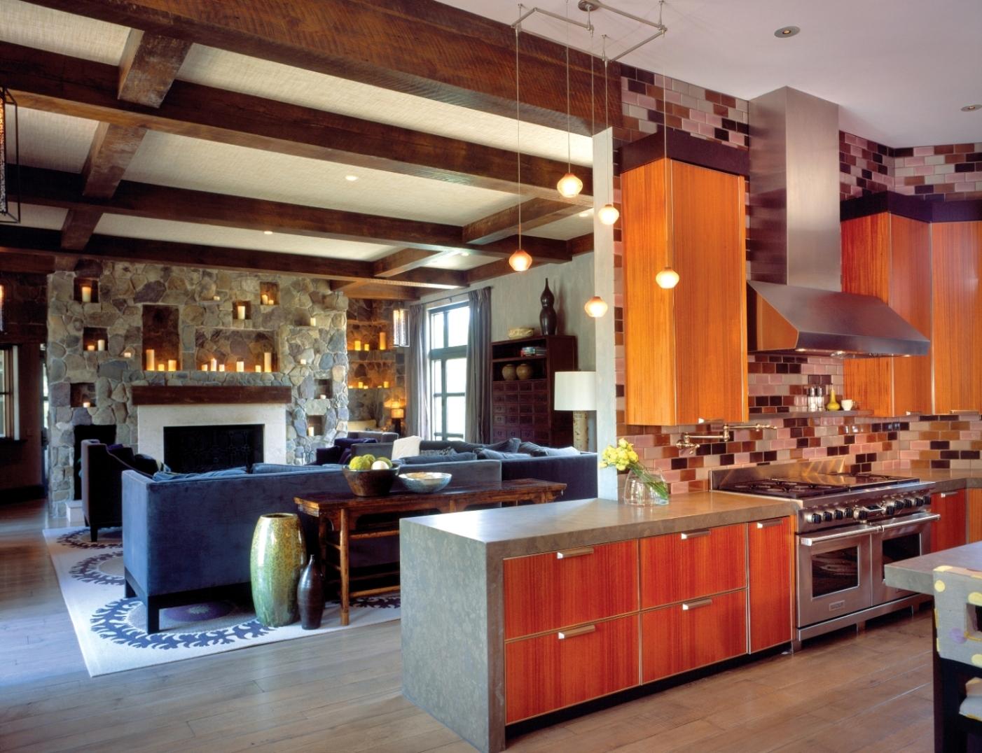 Comolli Kitchen-Family Rm