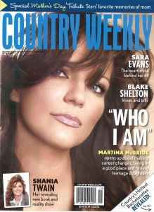 "Country Weekly – May 2011 ""Grand Ole Opry, River of Dreams"""