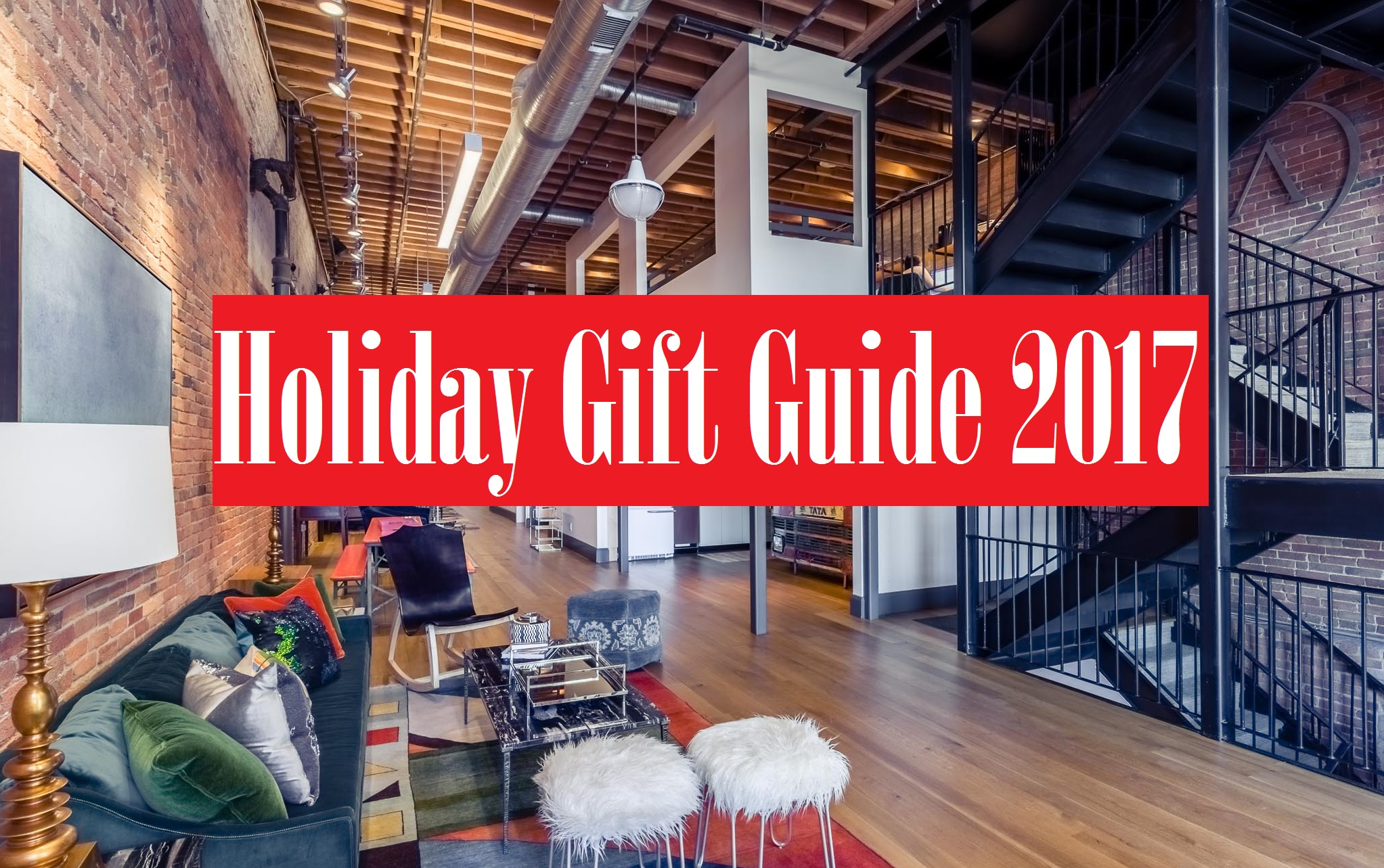 Your go to list for holiday gift ideas