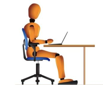 ergonomic chair keyboard position rocking resort mountain home arkansas correct mouse and placement at your desk setup