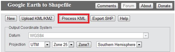 Conversor Online KML/KMZ para Shapefile     Anderson Medeiros