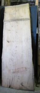"#61. Monterey Cypress (36""W (small end), 41""W (big end) x 108""L x 3.75""T) $975"