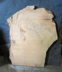 """#251. Monterey Cypress, Lots of Curly Grain (40""""W x 52""""L x 3""""T) $425"""