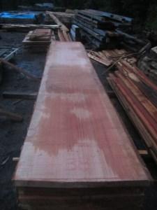 """#506. Redwood (38""""W x 202""""L x 2.75""""T) $2,198"""