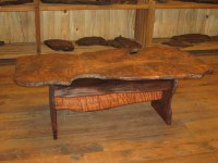 *SOLD* Curly Grained Redwood Burl Coffee Table $895 *SOLD ...