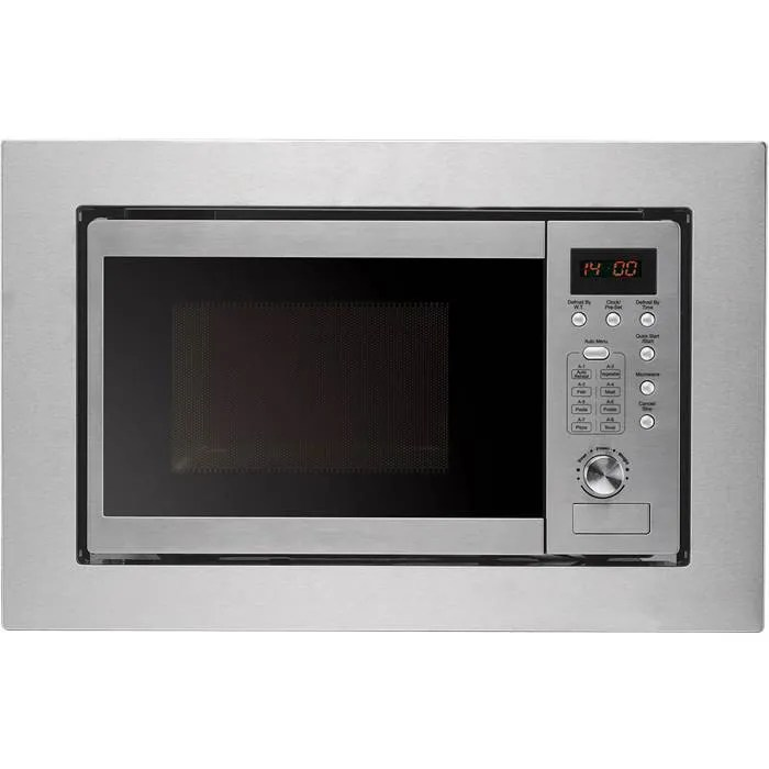 baumatic bymm204ss built in microwave oven in stainless steel
