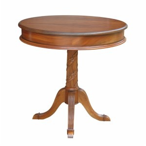 Victorian Pedestal Side Table