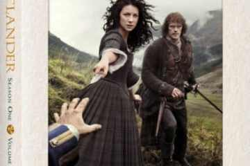 OUTLANDER S1 V2 available on Blu-ray, DVD and Limited Collector's Edition 9/29 5