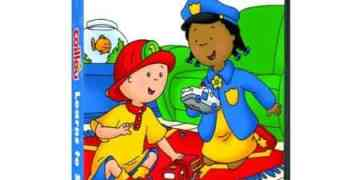 CAILLOU: CAILLOU LEARNS TO SHARE 5
