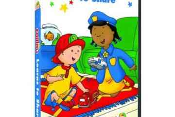 CAILLOU: CAILLOU LEARNS TO SHARE 11