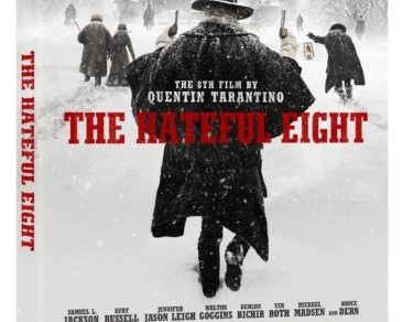 THE HATEFUL EIGHT arriving on Blu-Ray on March 29th, 2016. 8