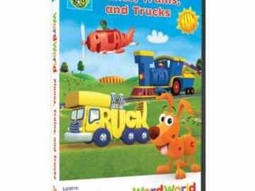 WORDWORLD: PLANES, TRAINS AND TRUCKS 34