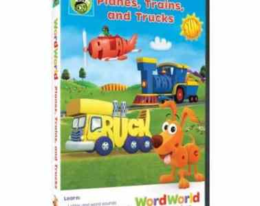 WORDWORLD: PLANES, TRAINS AND TRUCKS 7