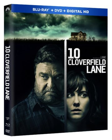 10 CLOVERFIELD LANE comes to Blu-ray Combo Pack June 14th and Digital HD May 31st 1