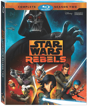 Star Wars Rebels: Season 2 - on Blu-ray and DVD August 30 3