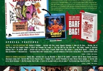 At Last - Dr Butcher MD And Zombie Holocaust On Blu-ray And DVD - This July! 7