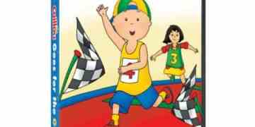 CAILLOU: GOES FOR THE GOLD 1