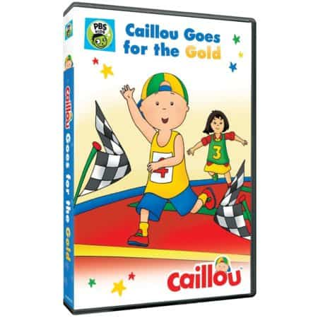 CAILLOU: GOES FOR THE GOLD 3