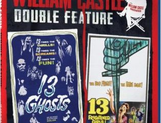 WILLIAM CASTLE DOUBLE FEATURE - 13 GHOSTS/13 FRIGHTENED GIRLS 19