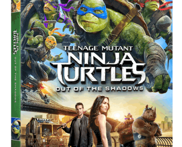 TEENAGE MUTANT NINJA TURTLES: OUT OF THE SHADOWS arrives on Blu-ray Sept. 20th and Digital HD Sept. 6th 3