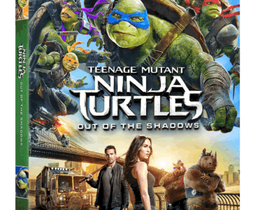 TEENAGE MUTANT NINJA TURTLES: OUT OF THE SHADOWS arrives on Blu-ray Sept. 20th and Digital HD Sept. 6th 23