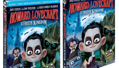 HOWARD LOVECRAFT AND THE FROZEN KINGDOM (Jane Curtin, Ron Perlman and Christopher Plummer) debuts 9/27 across home ent, VOD, Digital HD and Redbox. 14
