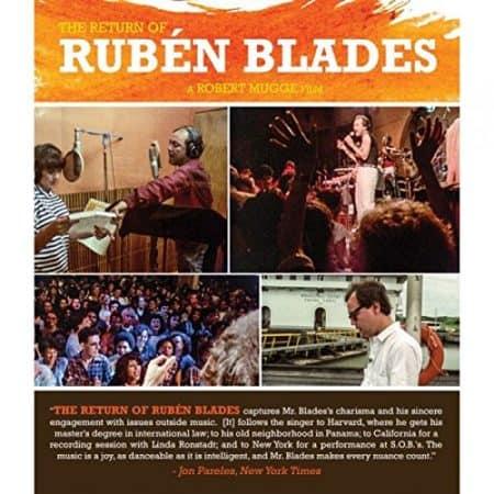 RETURN OF RUBEN BLADES, THE 1