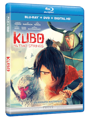 Animated Epic Adventure Kubo and the Two Strings Arrives on Digital HD 11/8 and Blu-ray, 3D, Blu-ray, DVD, and On Demand 11/22 3