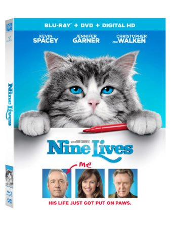 Celebrate National Cat Day 10/29 - Nine Lives Now on DHD and Blu-ray 11/1! 3