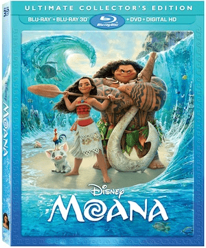 MOANA is coming to BLU-RAY on March 7th 3