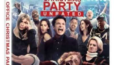 OFFICE CHRISTMAS PARTY- unrated cut arrives on Blu-ray Combo Pack April 4th, Digital HD on March 21st 11