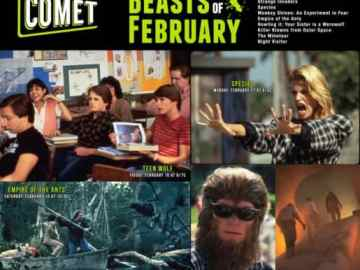 Airing on COMET TV: The Beasts of February! Teen Wolf! Species! Strange Invaders! 49