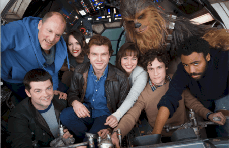 HAN SOLO - A NEW STAR WARS STORY BEGINS PRODUCTION 18