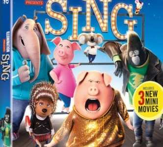 SING Blu-ray/DVD Release + ALL NEW MINI-MOVIE SNEAK PEAK – Available 3/21 23