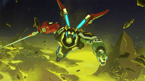 DreamWorks Animation Television and Netflix Release DreamWorks Voltron Legendary Defender Season 2 Clip 3